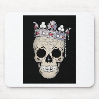 Schädel-Knochen-Rahmen-Halloween-Horror-Krone Mousepad