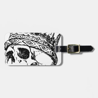 Schädel-Krone Gepäckanhänger