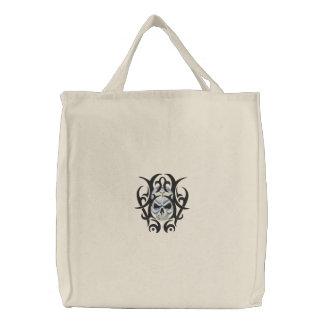 Schädel-Kunst Bestickte Taschen