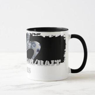 Schädel-Logo-Wecker-Tasse Tasse