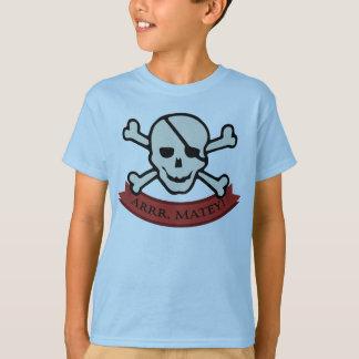 Schädel - lt Blue Kids' T - Shirt Basic Hanes