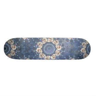 Schädel-Mandala 21,6 Cm Skateboard Deck