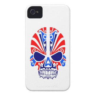 Schädel-Masken-Tätowierung iPhone 4 Cover
