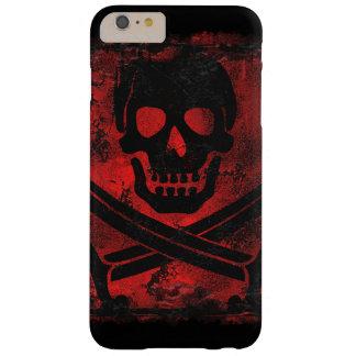 Schädel mit gekreuzter Schwerter-Creepy Grafik Barely There iPhone 6 Plus Hülle