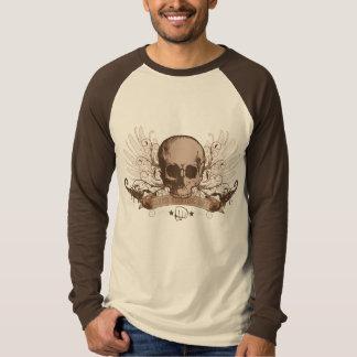 Schädel-Montage - Bronze T-Shirt