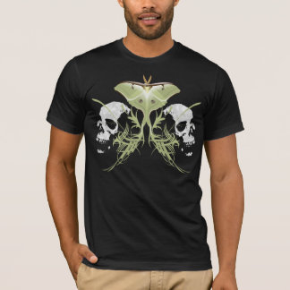 Schädel-Motte T-Shirt