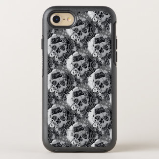 Schädel-Muster der Selbstmord-Gruppen-| OtterBox Symmetry iPhone 8/7 Hülle