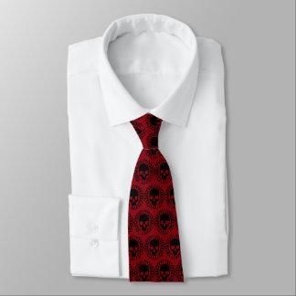 Schädel-Muster elegantes Halloween Goth irgendeine Krawatte