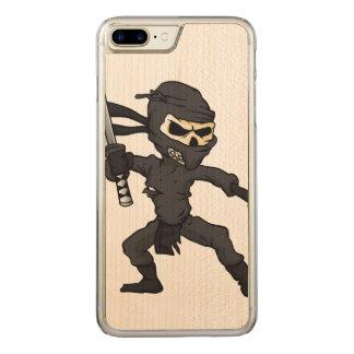 Schädel ninja Karikatur Carved iPhone 8 Plus/7 Plus Hülle