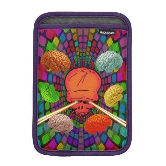 Schädel psychedelisch iPad mini sleeve