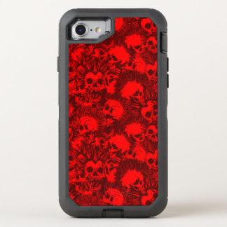 Schädel-Punk OtterBox Defender iPhone 8/7 Hülle