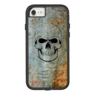 Schädel schwärzte auf rostiges Metall Iphone 7/8 Case-Mate Tough Extreme iPhone 8/7 Hülle