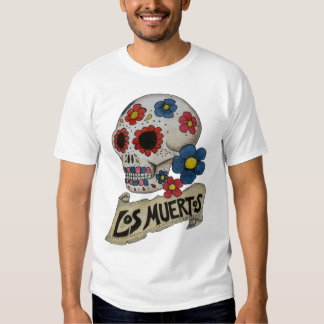 Schädel-Shirt Los Muertos Hemden