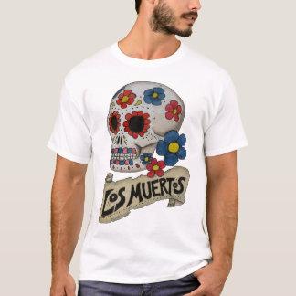 Schädel-Shirt Los Muertos T-Shirt