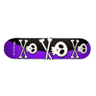 Schädel-Skateboard-Entwurf Individuelle Decks