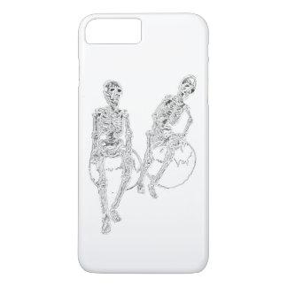 Schädel-Skelette, die lustige iPhone iPhone 7 Plus Hülle