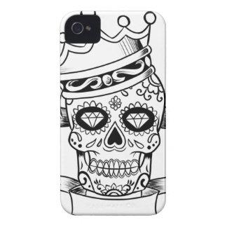 Schädel-Tag des toten Case-Mate iPhone 4 Hülle