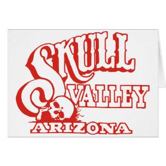 Schädel-Tal, Arizona Karte