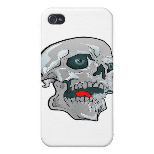 Schädel-Tätowierung Etui Fürs iPhone 4