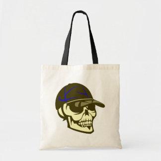 Schädel Totenkopf Kappe skull cap Tragetasche