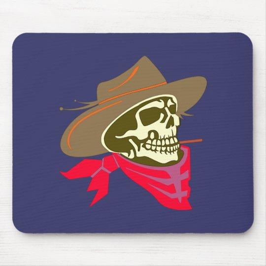 Schädel Totenkopf skull cowboy Mousepads