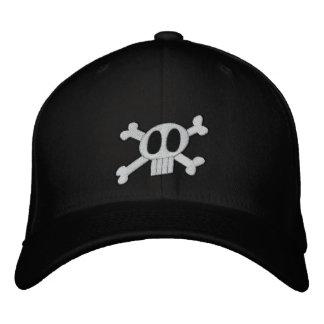 Schädel u. gekreuzte Knochen stickten Hut Besticktes Cap