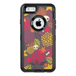 Schädel und Blumen OtterBox iPhone 6/6s Hülle