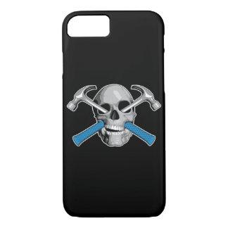 Schädel und Hämmer v3 iPhone 8/7 Hülle