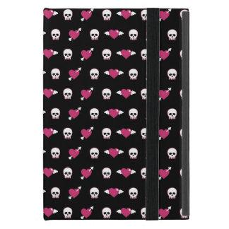 Schädel und Herzen Etui Fürs iPad Mini