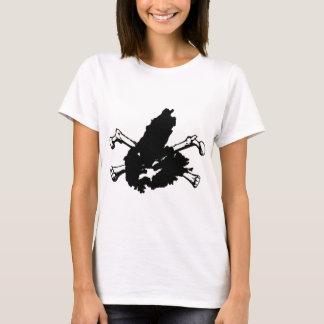 Schädel und Kap-Bretone T-Shirt