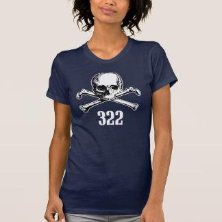 Schädel und Knochen 322 T-Shirts