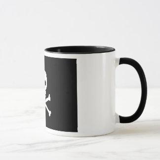 Schädel-und Knochen-Klassiker-Tasse Tasse