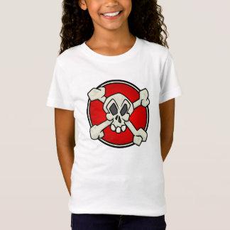 Schädel und Knochen-Shirt für Kinder T-Shirt