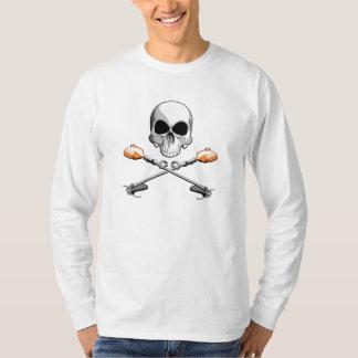 Schädel und Unkraut Wackers T-Shirt