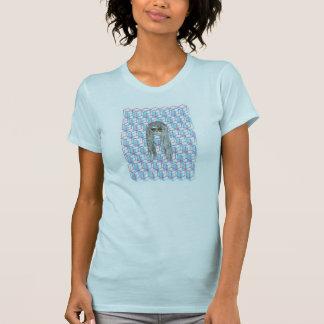 Schädel-und Würfel-Entwurfs-T - Shirt