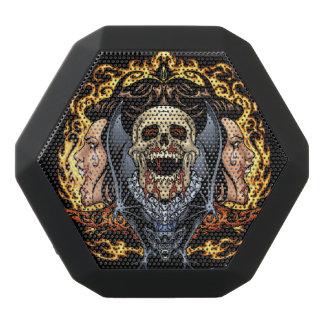 Schädel-, Vampirs-und Schläger-gotischer Entwurf Schwarze Bluetooth Lautsprecher