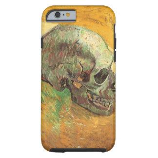 Schädel, Vincent van Gogh, Vintage Tough iPhone 6 Hülle