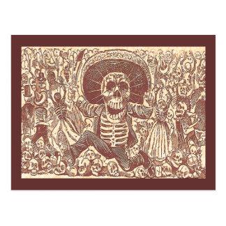 Schädel von Oaxaca, La Calavera Oaxaqueña Postkarte