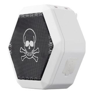 Schädel Weiße Bluetooth Lautsprecher