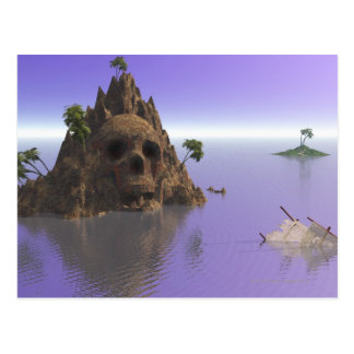 Schädelinsel Postkarte