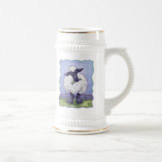 Schaf-Geschenke u. Zusätze Bierglas