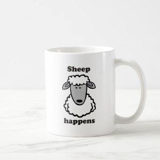 Schaf geschieht kaffeetasse