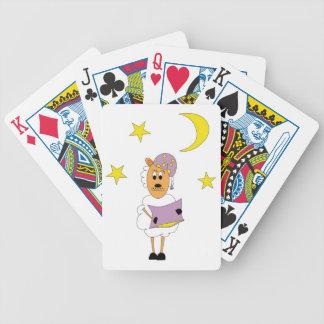 Schaf - Gute Nacht Pokerkarten