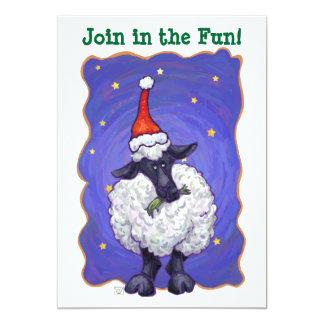 Schaf-Weihnachten Karte