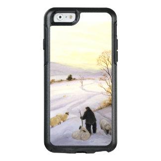 Schafe auf der Kante OtterBox iPhone 6/6s Hülle