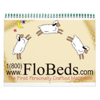 Schafe auf Latex Wandkalender