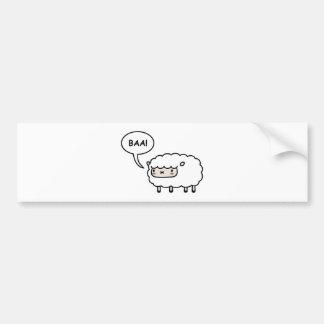 Schafe! Autoaufkleber