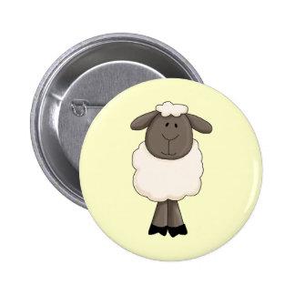 Schafe Runder Button 5,1 Cm