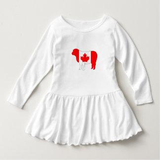 Schafe Kanada Kleid