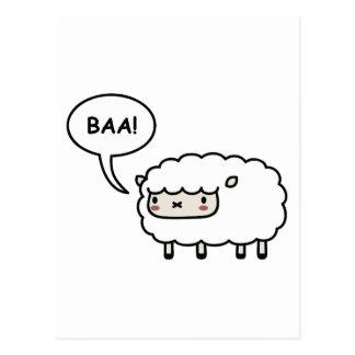 Schafe! Postkarte
